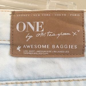 One Teaspoon Jeans - One Teaspoon Awesome Baggies Distressed Jeans - 24